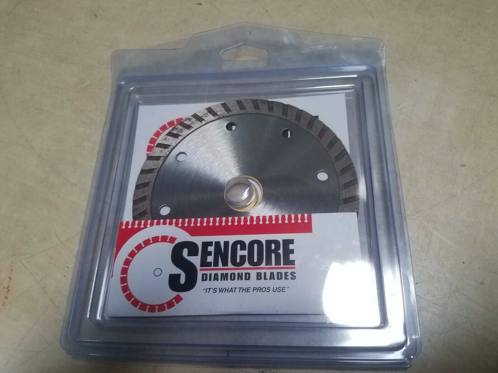 "Primary image for SENCORE Diamond Blades Grinder Blade 5"" 5/8-13/16-7/8 New"