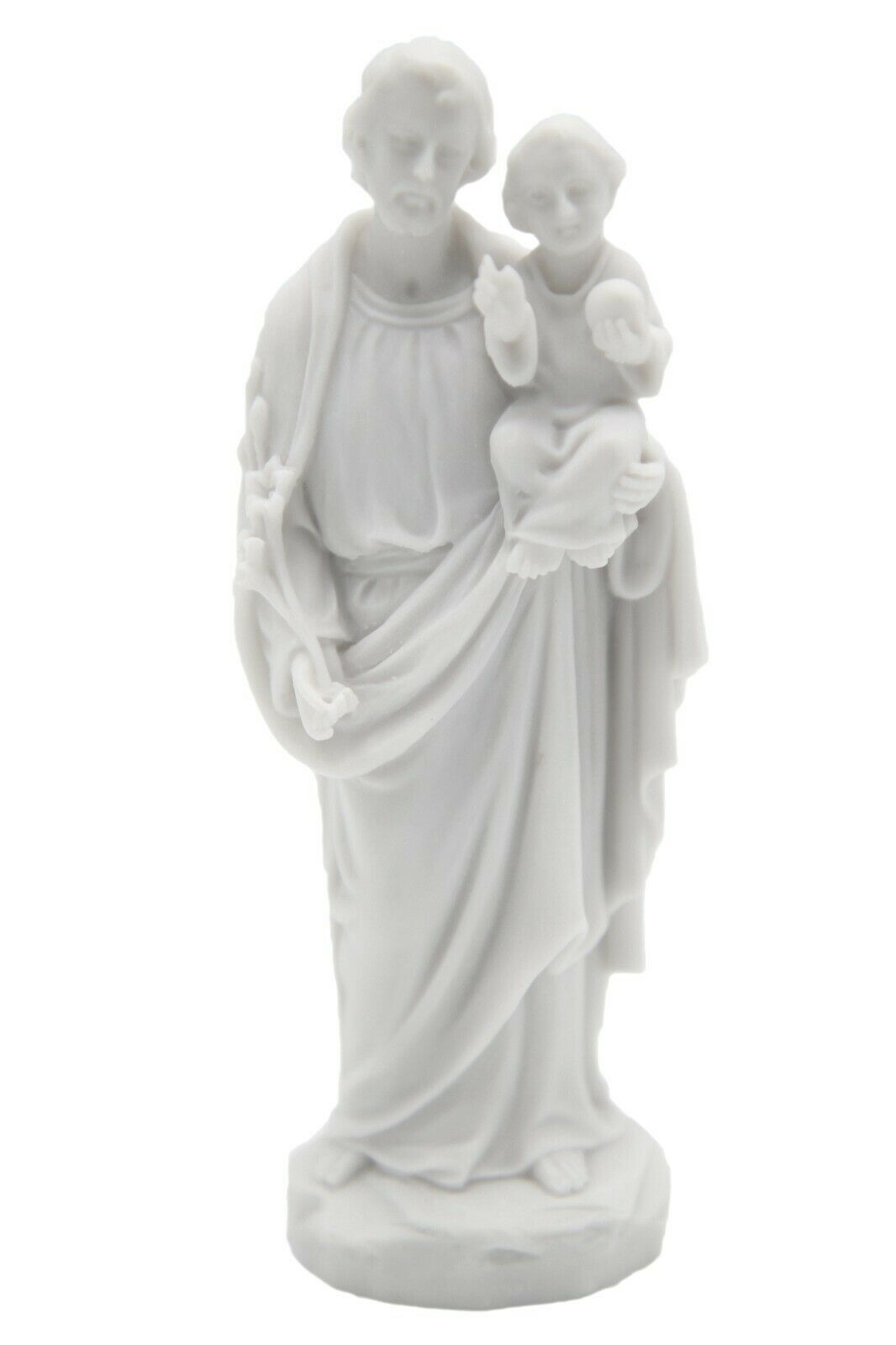 "Primary image for 5"" Saint St Joseph Baby Jesus Child Catholic Statue Figurine Vittoria Italy"