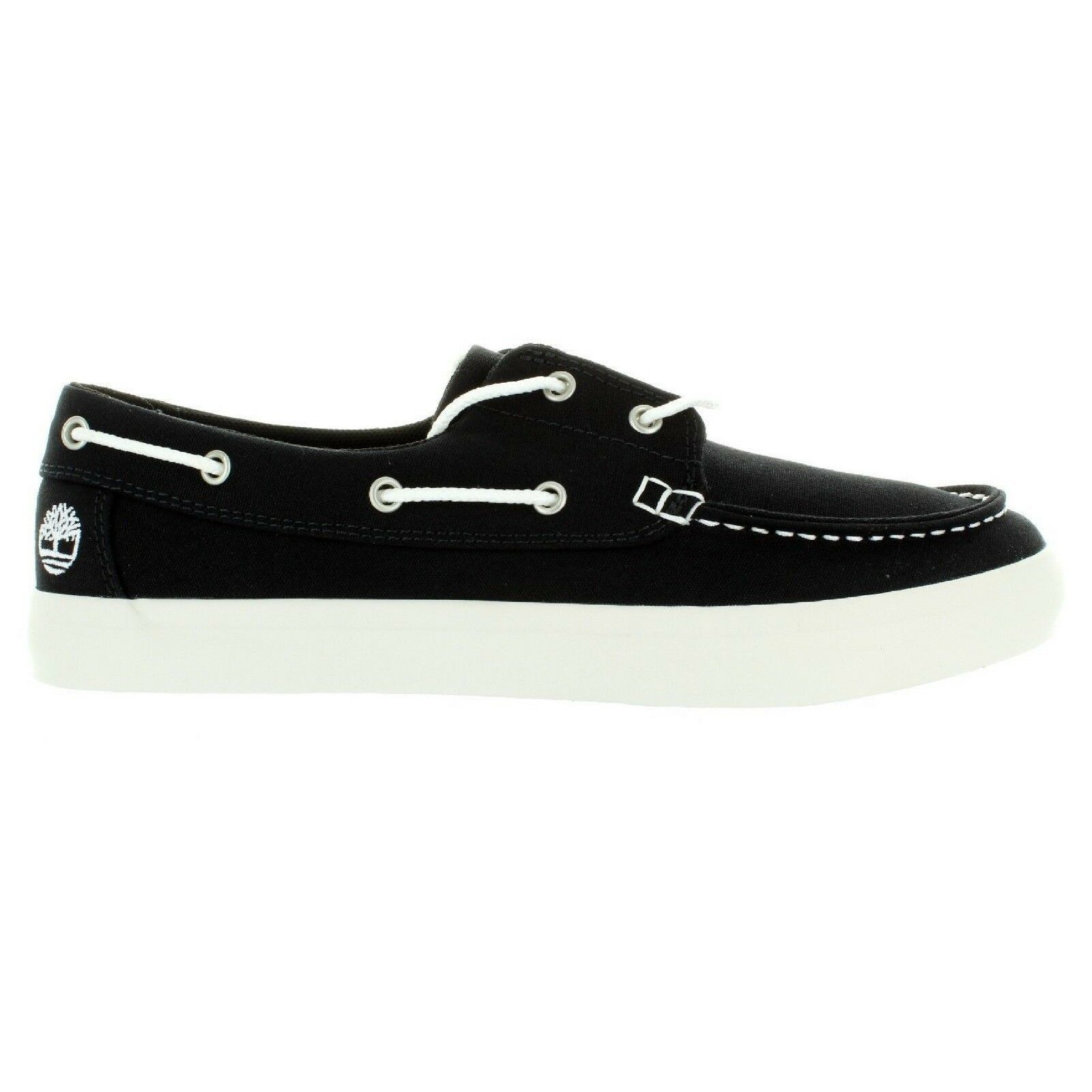 Primary image for TB0A1Q9F, TIMBERLAND MEN'S Union Wharf 2-Eye Boat Shoe Black