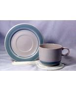 Daniele Riverside Flat Cup And Saucer Set - $5.03