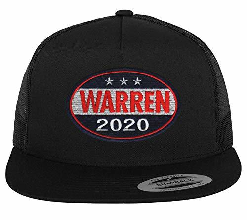 Elizabeth Warren 2020 Adjustable Baseball Cap Hat - Flat Brim Snapback