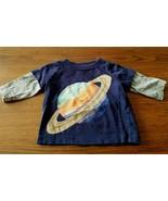 GYMBOREE Baby PLANET Solar System Shirt Long Sleeve Top Boys 0-3M 0-3 Mo... - $14.50