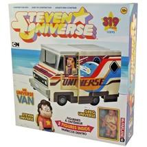 "STEVEN UNIVERSE MR. UNIVERSE VAN CONSTRUCTION SET + STEVEN & GREG 3"" FIG... - $12.55"