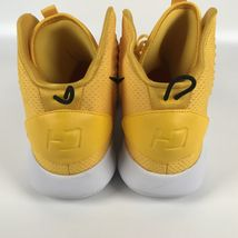 Nike Hyperdunk X TB yellow Men's size 16 Basketball Shoes AT3866 701 image 5