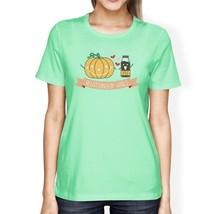 Pumpkin Spice Relationship Goals Womens Mint Shirt - $14.99+