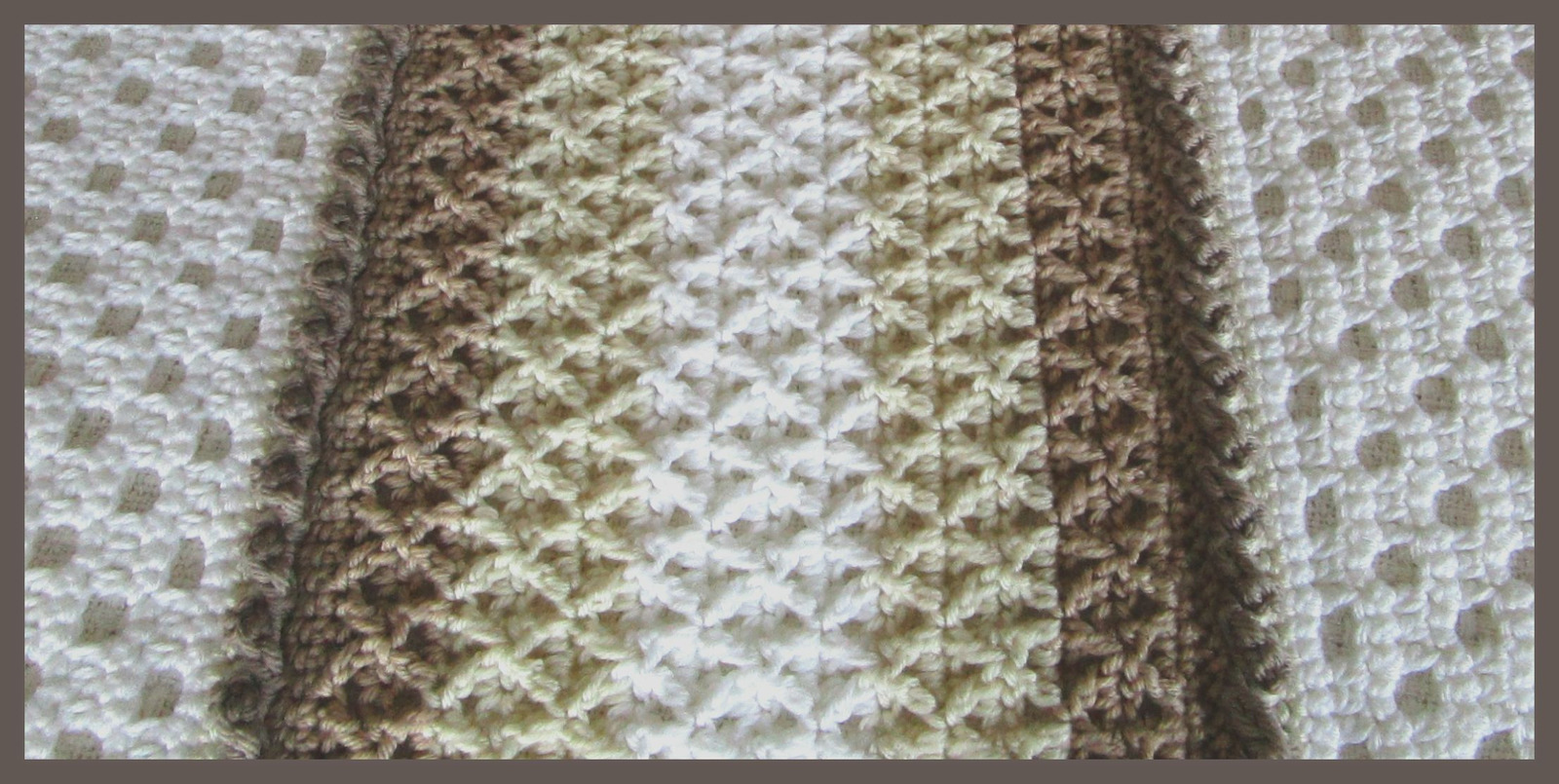 CROCHET PATTERN - The Wedding Afghan, afghan, stitches are symbolic, blanket