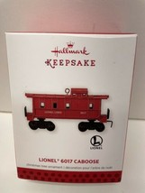 Hallmark 2013 Lionel Train 6017 Caboose Red Southern Pacific Christmas O... - $15.79
