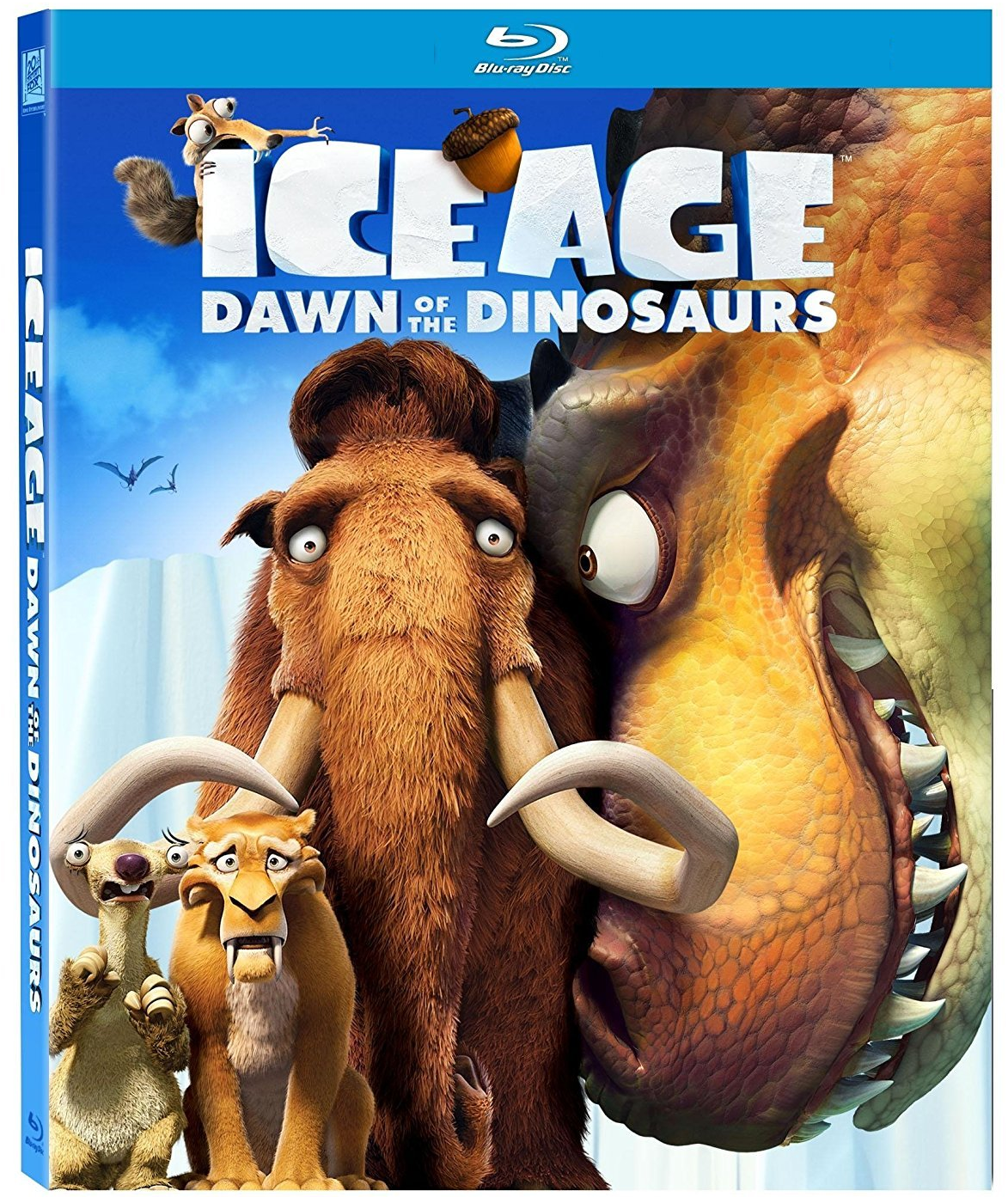 Ice Age: Dawn of the Dinosaurs (Blu-ray / DVD Set)