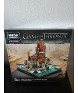 Mega Construx Game Of Thrones Black Series Building Set The Red Keep 334... - $39.55