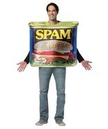 Spam Costume Adult Can Tunic Get Real Men Women Food Halloween Unique GC... - £36.88 GBP