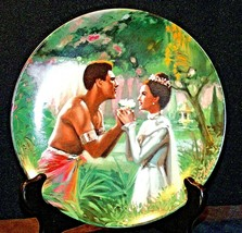 """1985 """"We Kiss in a Shadow"""" by William Chambers Plate with Box ( Knowles ... - $59.95"""