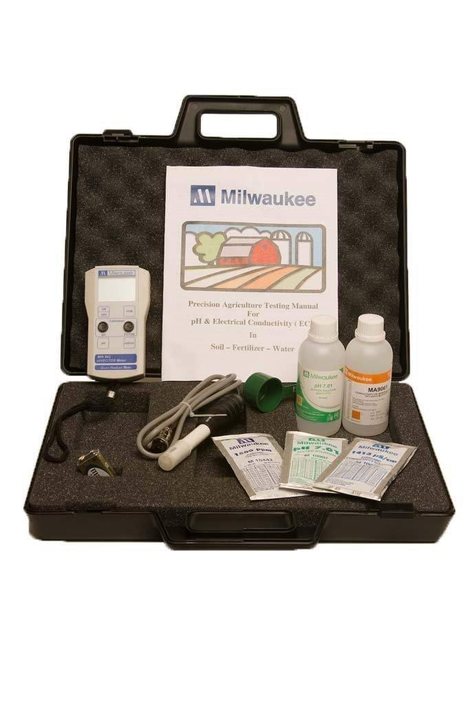 Milwaukee Instruments AG900 PH/EC/TDS Meter Kit - $300.00
