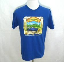 SIERRA NEVADA Mens Blue Short Sleeve Graphic Beer T-Shirt (Size Large) C... - $13.22 CAD