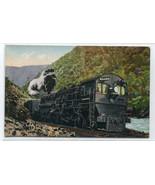 Southern Pacific SP Railroad Locomotive Compound Mallet Train 1910c post... - $7.87