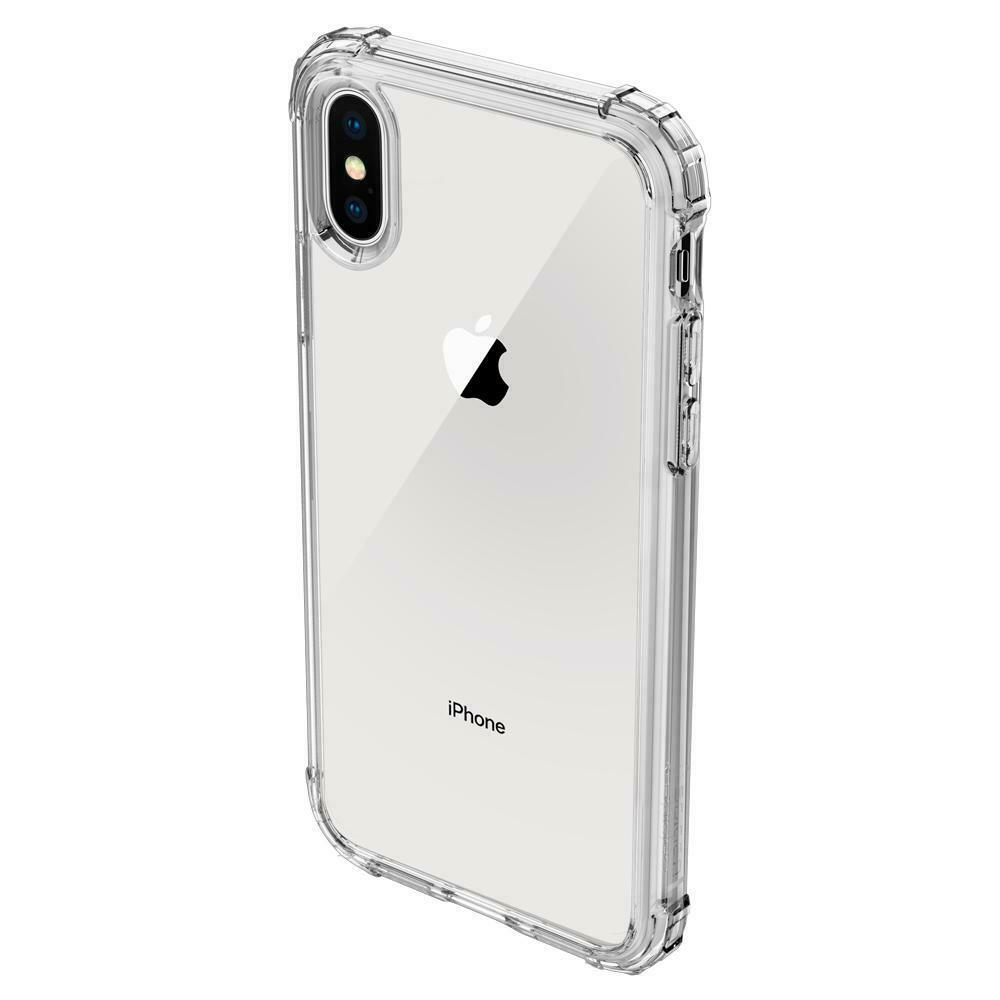 Spigen Crystal Shell Air Cushion Technology Case for iPhone Xs Clear NWT Bumper image 2