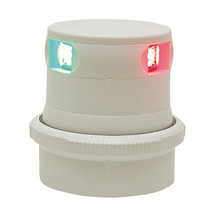 Aqua Signal Series 34 Tri-Color Mast Mount LED Light - White Housing [34607-7] - $161.79