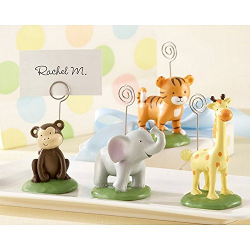 Primary image for Born To Be Wild Animal Place Card or Photo Holders (Set of 8)