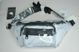 STEVE MADDEN BLINK  Clear Fanny Pack Belt Bag / Crossbody  Adjustable, NEW - $49.49