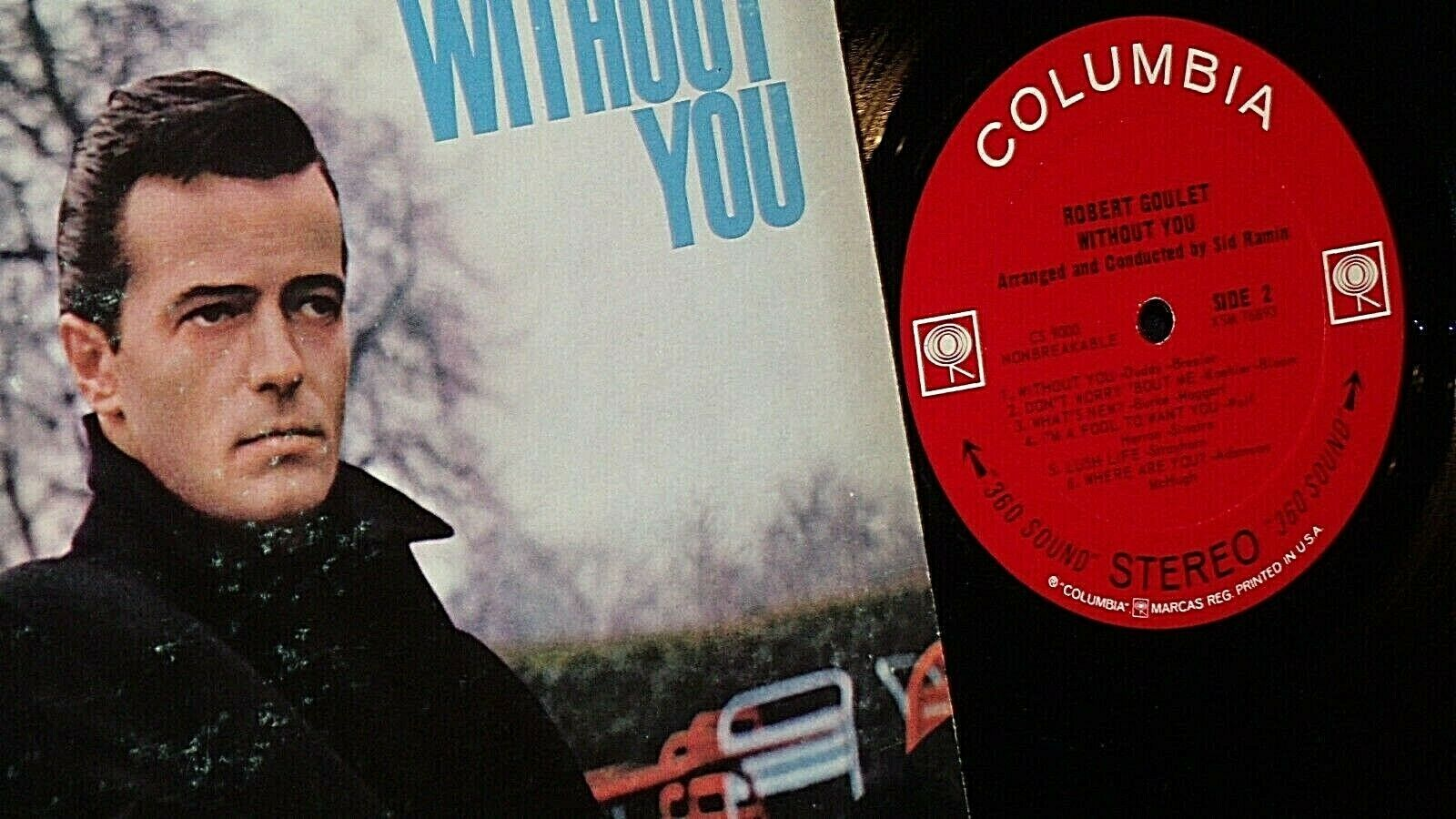 Robert Goulet -  Without You AA20-RC2104 Vintage