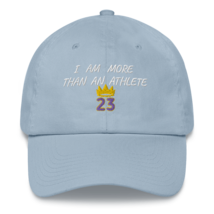 I Am More Than An Athlete Hat / King James / Basketball Dad hat image 11