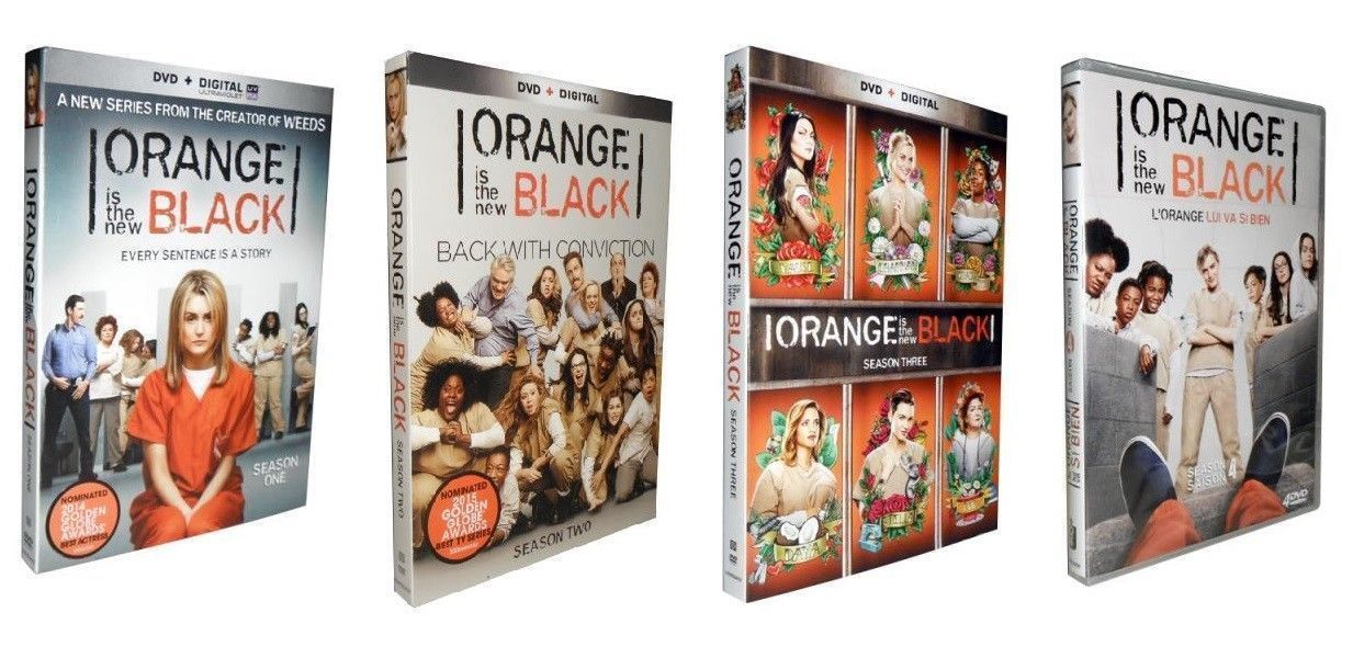 ORANGE IS THE NEW BLACK The Complete Series Seasons 1 2 3 4 DVD Sets [New]