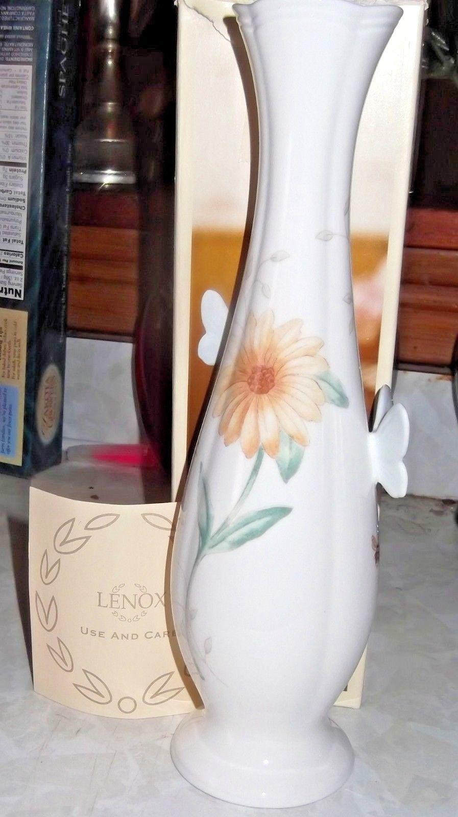 NIB Lenox Butterfly Meadow Vase