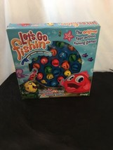 Let's Go Fishin' Game Opened Damaged Box Works All Pieces Included + Battery - $6.89