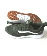 Vans Mens UltraRange Rapidweld Black Olive Green True White shoes Size 1... - $68.59