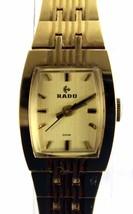 100% Auth Rado Very rare Ladies Watch Quartz Beige Dial SS Belt RADO Use... - $373.29