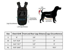 Colorful Pet Carrier Backpack - Perfect for Your Puppy! image 4
