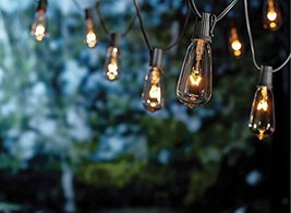 Goothy ST40 10Ft Outdoor Patio String Lights,Set of 10 Glass ST40 Edison... - €15,21 EUR