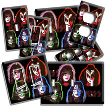 KISS HARD ROCK BAND SOLO ALBUM INSPIRED LIGHT SWITCH OUTLET PLATES STUDI... - $9.99+