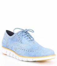 NEW Cole Haan Zerogrand Wingtip Light Denim Blue SZ 12 W 12W - $98.99