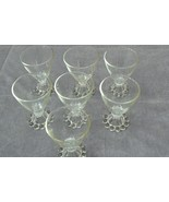 Vintage Imperial Candlewick Cordial Glass Set of Seven - $49.49