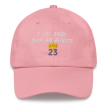 I Am More Than An Athlete Hat / King James / Basketball Dad hat image 10