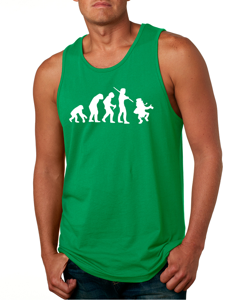 Primary image for Men's Tank Top Irish Evolution Leprechaun St Patrick's Top