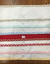 Zweigart Stitch Band 7322 Fabric Banding for Needlework Cross Stitch Hearts - $6.90