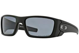Oakley Sonnenbrille Kraftstoff Zelle Matt Schwarz W / Grau Polarisiert O... - $139.14