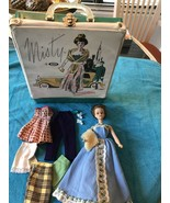 VINTAGE IDEAL 1960 Grow Hair Tressy Doll & Original Clothes & Misty Case... - $69.29