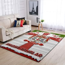 Knight Templars Chrismast Area Rug, Knight Rug Home Deco - $69.99+
