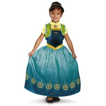 Disguise Anna Frozen Fever Deluxe Costume, One Color, Medium 7-8 - £20.56 GBP