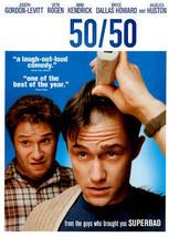 50/50 DVD Seth Rogen Joseph Gordon-Levitt BRAND NEW - $6.66