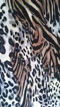 Brittany Black Women's Blouse Animal Print Sz 1x image 6