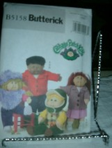 "Butterick Cabbage Patch Kids Doll Clothes Pattern  B5158 16"" & 20"" Dolls... - $4.94"