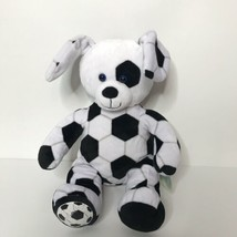 "Build a Bear Soccer Puppy Dog Plush Stuffed Animal 2016 15"" Tall  - $18.80"