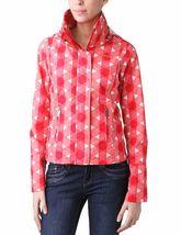 Bench UK Urbanwear Womens BBQ Barbecue Star Red Jacket w Hood BLKA1552 NWT image 5