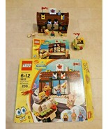 LEGO Krusty Krab Adventures 3833 USED 100% Complete Spongebob Squarepant... - $98.99