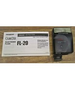 Olympus Camedia FL-20 Shoe Mount Electronic Flash With Instructions/Exce... - $45.00