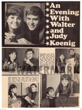 Star Trek At Home Judy and Walter Koenig 1968 Magazine Photo Clipping Pin Up - $5.00