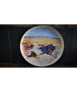 "Frederic Remington's""The Fight For The Water Hole"" Collector Plate - $39.99"